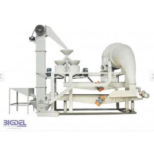 1- TFQM200 Karabuğday Kabuk Soyma Buckwheat shelling machine